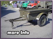 Army-Trailer Jeep-Anhänger
