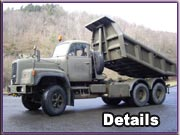 Army-Trucks Saurer 330D Kipper